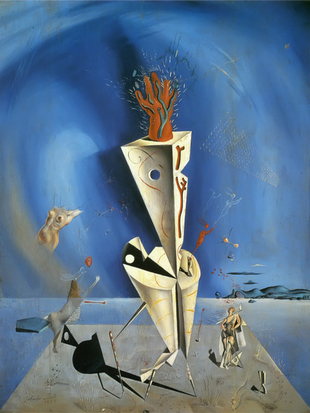 Apparatus And Hand by Dali Print