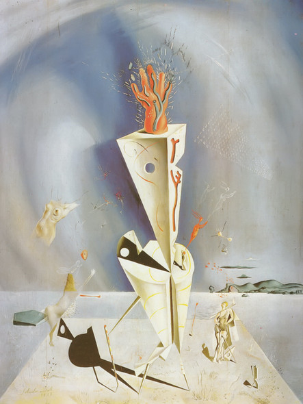 Apparatus And Hand by Salvador Dali Print