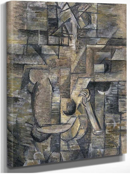 A Girl By Georges Braque