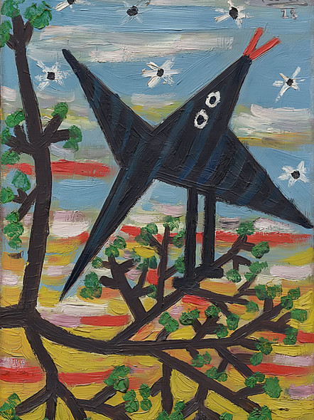 Bird On A Tree by Picasso Print