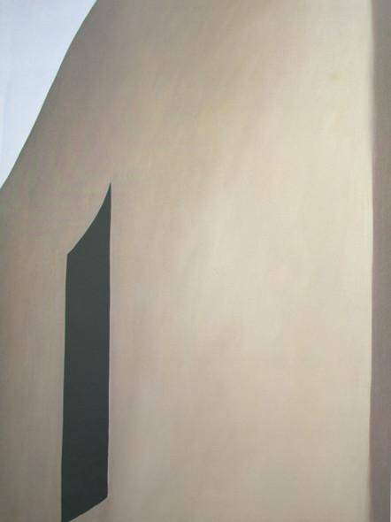 Black Patio Door by Georgia O Keeffe Print