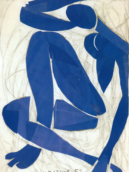 Blue Nude Iv by Henri Matisse Print
