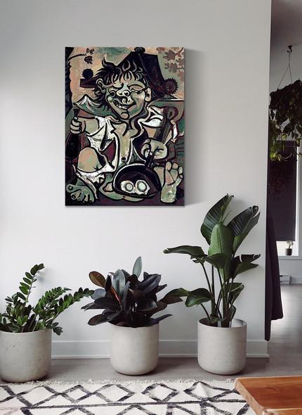 Bobo (Velazquez Murillo) by Picasso
