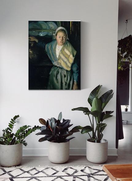 Breton Girl by Diego Rivera