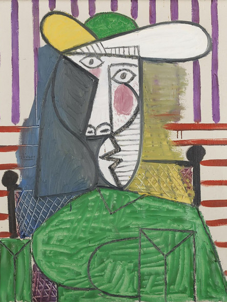 Bust Of A Woman by Picasso 1 Print