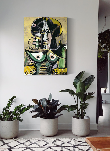 Bust Of Woman 100x81 by Picasso 1