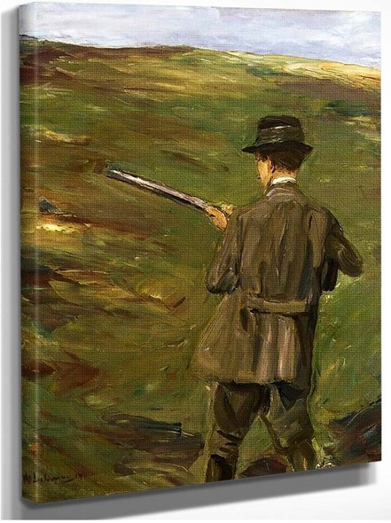 A Hunter In The Dunes 1914 By Max Liebermann