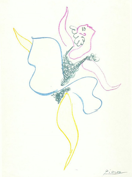 Dancer by Picasso 1 Print