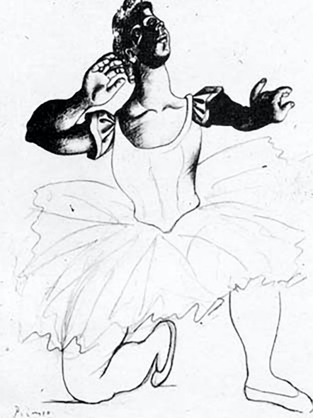 Dancer by Picasso Print