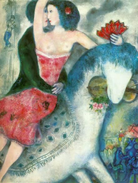 Equestrienne 1931 by Marc Chagall Print