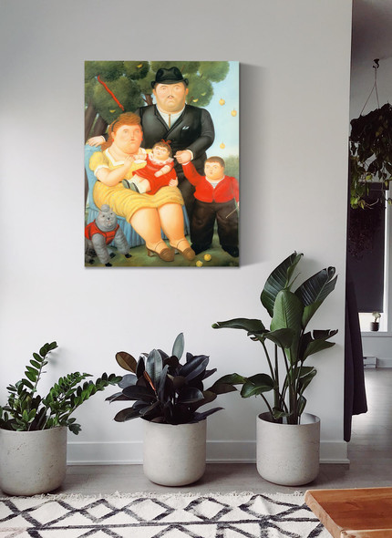 Family 89 by Botero