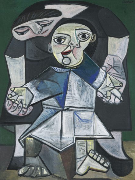 First Steps by Pablo Picasso Print