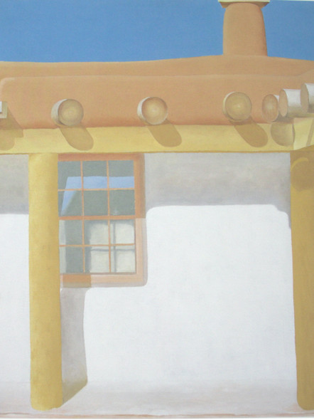 From The Patio No 11 by Georgia O Keeffe Print