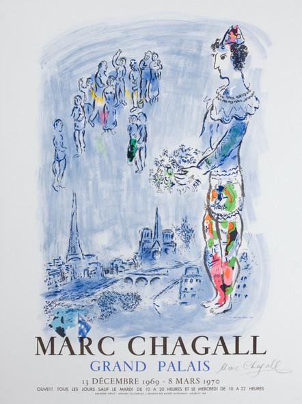 Grand Palais 1969 by Marc Chagall Print