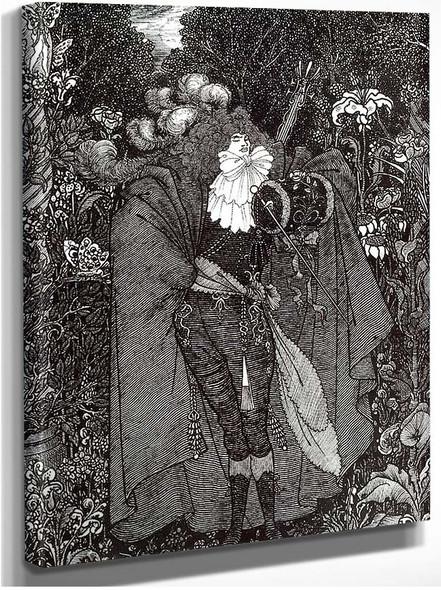 A Nightpiece 1894 By Aubrey Beardsley