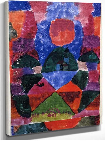 A Pressure Of Tegernsee 1919 By Paul Klee