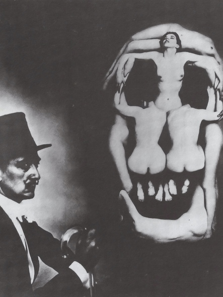 Human Skull Consisting Of Seven Naked Women by Salvador Dali Print