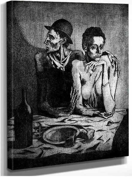 A Simple Meal 1904 By Pablo Picasso
