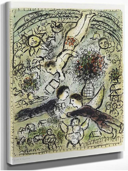 A Sky 1984 By Marc Chagall