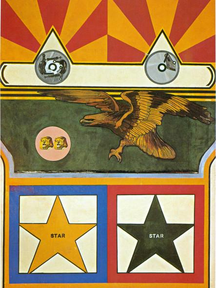 Lion Versus Eagles 1962 by Peter Phillips Print