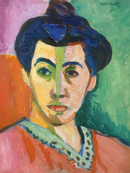 Madame Matisse by Henri Matisse Print