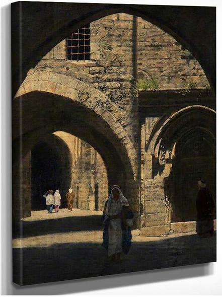 A Street In Jerusalem By John Maler Collier