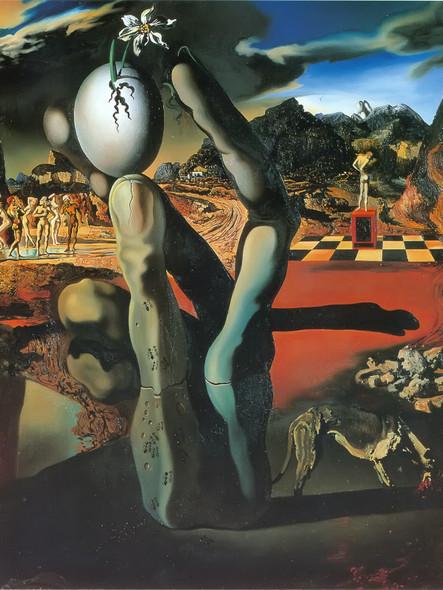 Metamorphosis Of Narcissus by Dali Print