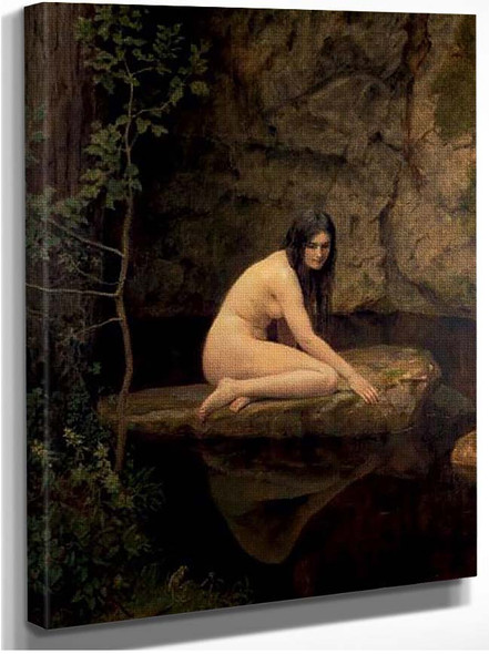 A Water Nymph By John Maler Collier