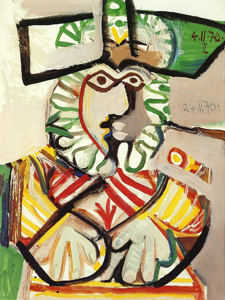 Musketeer 130x97 by Picasso Print