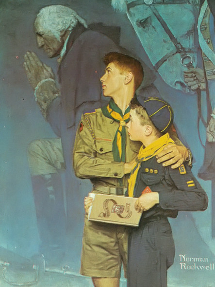 Our Heritage by Norman Rockwell Print