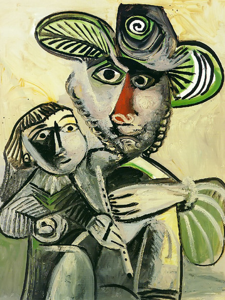 Paternity 146x114 by Picasso Print