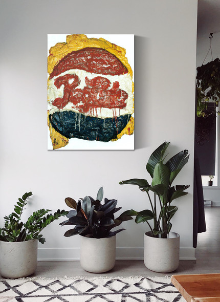 Pepsi Cola Sign by Claes Oldenburg