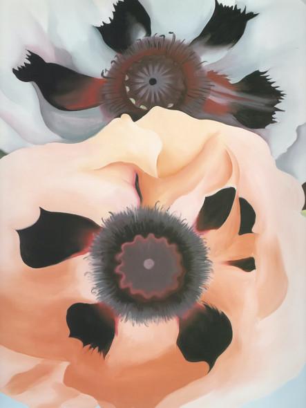Poppies 1950 by Georgia O Keeffe Print