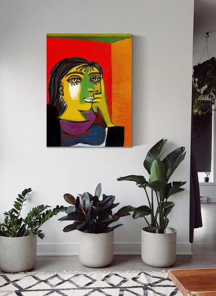 Portrait Of Dora Maar by Picasso