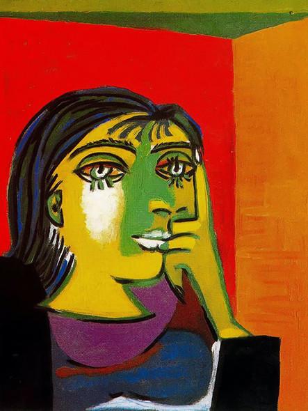 Portrait Of Dora Maar by Picasso Print