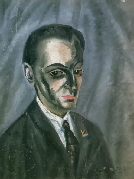 Portrait Of Jose M Torres by Dali Print