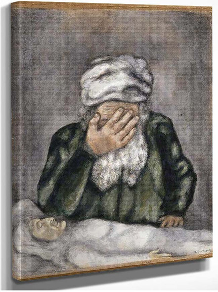 Abraham Weeping For Sarah 1931 By Marc Chagall