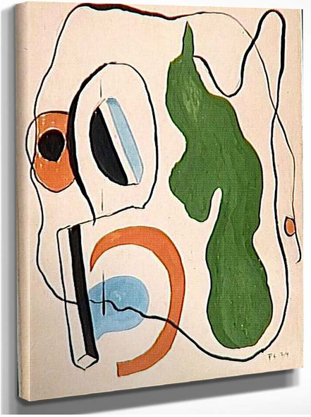 Abstract Composition 1924 By Fernand Leger
