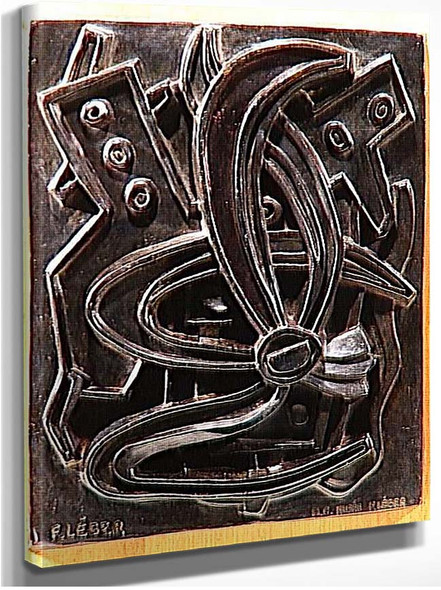 Abstract Composition Sheets By Fernand Leger