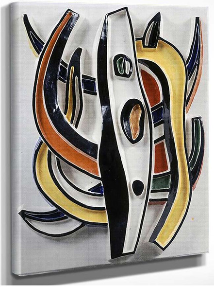 Abstract Composition By Fernand Leger