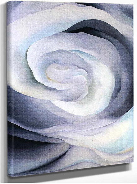 Abstraction White Rose By Georgia O Keeffe
