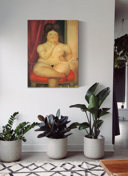Seated Woman 2 by Botero