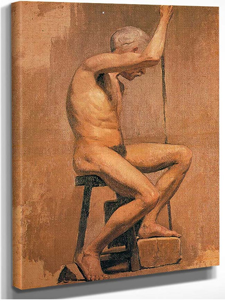Academic Nude By Pablo Picasso