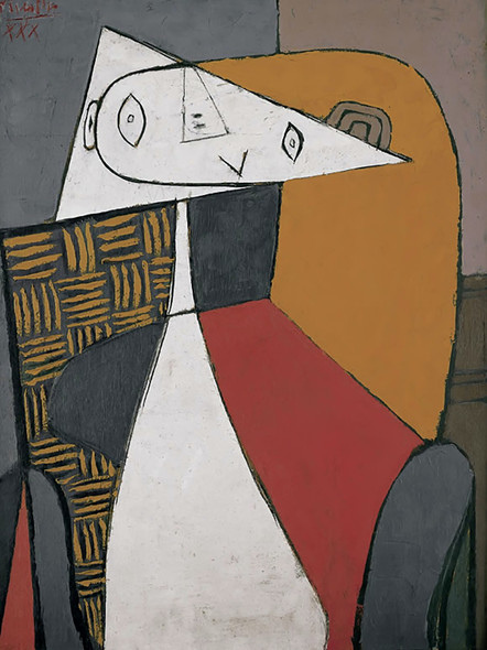 Seated Woman by Picasso 2 Print