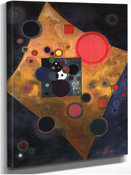 Accent On Rose 1926 By Wassily Kandinsky