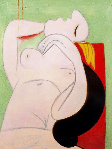 Sleep 130x97 by Picasso Print