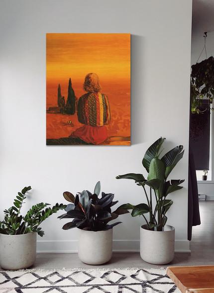 Sugar Sphinx by Salvador Dali