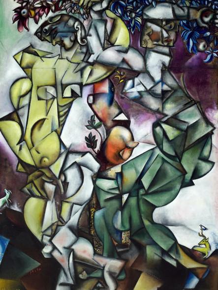 Temptation by Marc Chagall Print