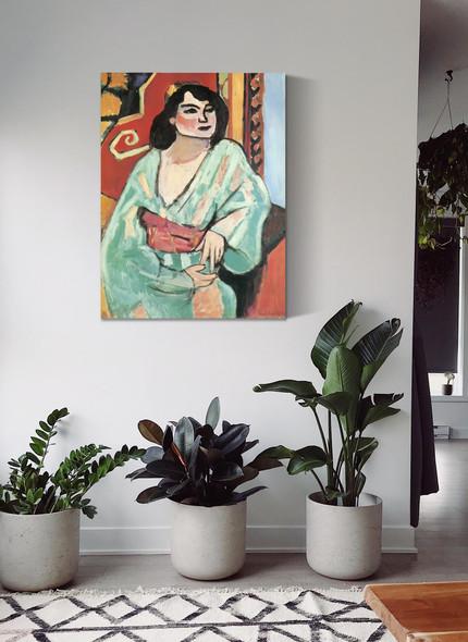 The Algerian Woman by Henri Matisse