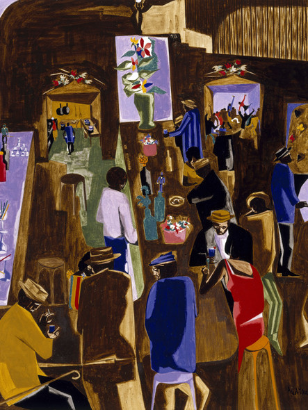 The Brown Angel by Jacob Lawrence Print
